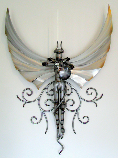 metal art and sculpture by Adam Styles, Nelson, NZ